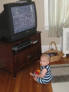 JB in front of TV2 7-16-10