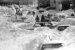 Blizzard of 1978 Afternath